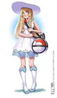 Pokemon - Lillie by MLeth