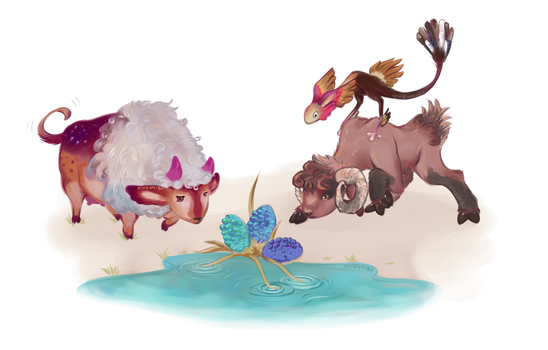 [TA] Quaffle, Bludger, and Snitch by Vixenkiba