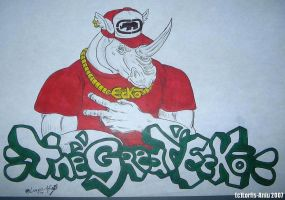 The Great Ecko Graff. by Lorfis-Aniu