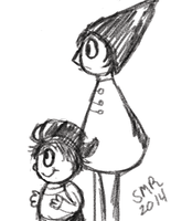 Over the garden wall sketch by SugarHIGH-cHAOS
