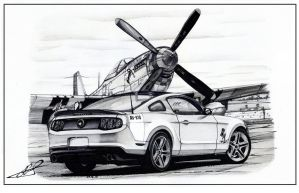 Mustang by Andrew-BBS
