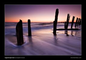 Happisburgh Dawn by henroben