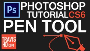 Pen Tool Tutorial Video for Beginners by ShindaTravis