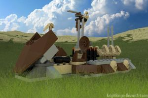 Lego Star Wars - Droid Carrier by KnightRanger
