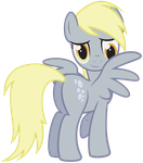 Derpy Hooves by juniberries