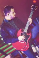 Red Guitar by VICINITYOFOBSC3NITY