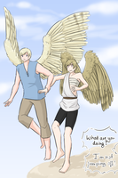 if we were angels.... by AskTino2P