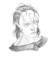 Cardassian Sketch by LegoVasavouchi