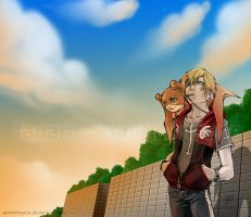 Digimon, Dear Forever - 4 Lar by AoiNoKitsune