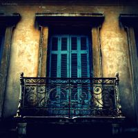 Athens Door by lostknightkg