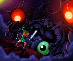 Link vs The Nightmares by Seonidas