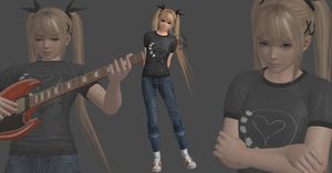 Marie rose punk mod by Saskeni