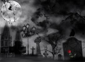 Macabre Castle by Vickie666