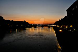 Florence Sunset by porTTRaits