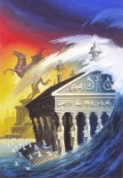 The Fall of Atlantis by AlanGutierrezArt