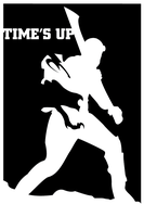 riddick time's up silhouette by hfa18