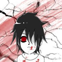 Cracked View-with blood by Psy by Beyond-Birthday-Fans