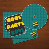 Cool Party CD Cover by mohammed6651