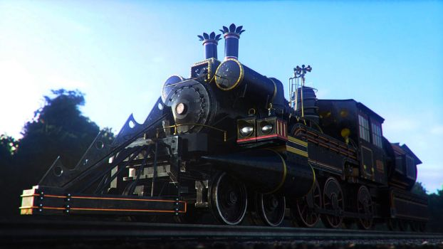 Train Jules Vernes render 2 by Zlydoc