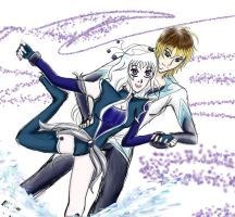 The King and Queen Of ICE by Usagi-Moni