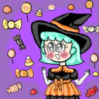 Candy witch Furoora by princessofvernon