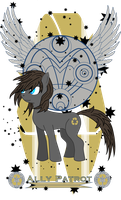 Ally Patrot - Earth Pony OC by screwtapethedemon