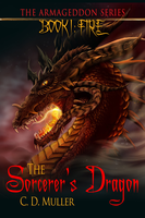 The Sorcerer's Dragon Book Cover by XRosewaterX