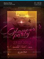 Glamour Party Flyer by artnook