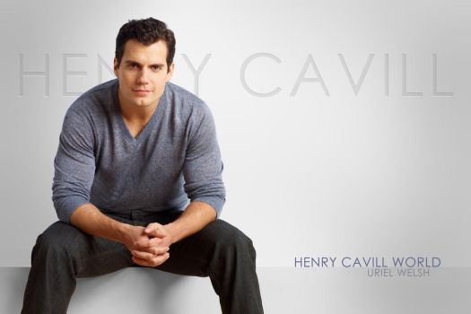 Henry Cavill White Background by urielwelsh