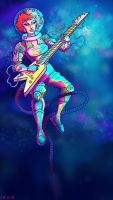 Space Bass  by Ikny
