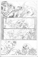 Hawk and Dove Page 06 by SeanLeeArt