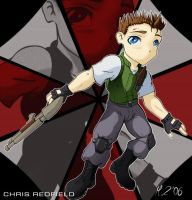 Chris Redfield SD by MrZombie