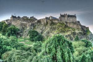 Edinburgh Castle by Spyder-art