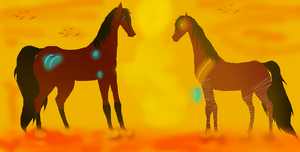 When we first met... by Horses-Echo