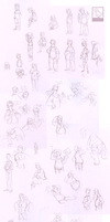 sketchdump #1 by VCR-WOLFE
