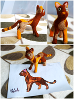 Contest Prize - Brown Cat by kr1st1naa