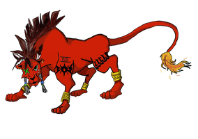 Red XIII Number 2 by Imprensibilis