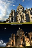 Basilica of the Sacr-Coeur by soulfinder90