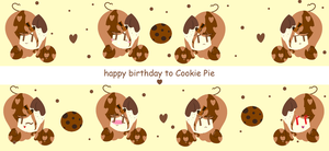 gift for cookie pie by PinkieShy001