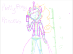 WIP of random Adventure Time OC by Miss-Awesomeness11