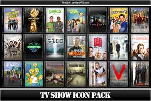 TV Show Icon Pack 2 by FirstLine1