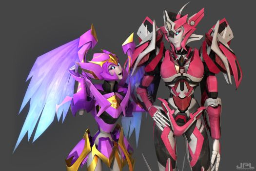 TFP ( COMMISSION ) Solar and Elita One by JPL-Animation