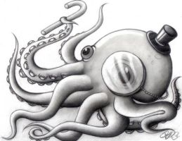 The Aristocratic Octopus by AbjectApprehensive
