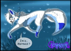 I'm a...Mermaid ? by ThechnoHusky92