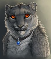 Dey Anthro Bust Speedpaint by DeyVarah