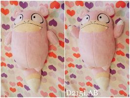 Slowpoke Plush by d215lab