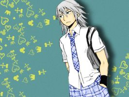 Riku Wallpaper by BleachAlchemist