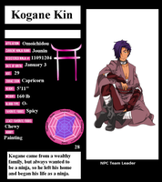 HSV : NPC - Kogan Kin by Sorceress2000