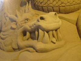 Sand sculpture 6 by Hoppiej