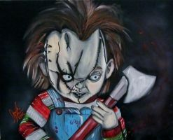 CHUCKY!! by AmandaPainter87